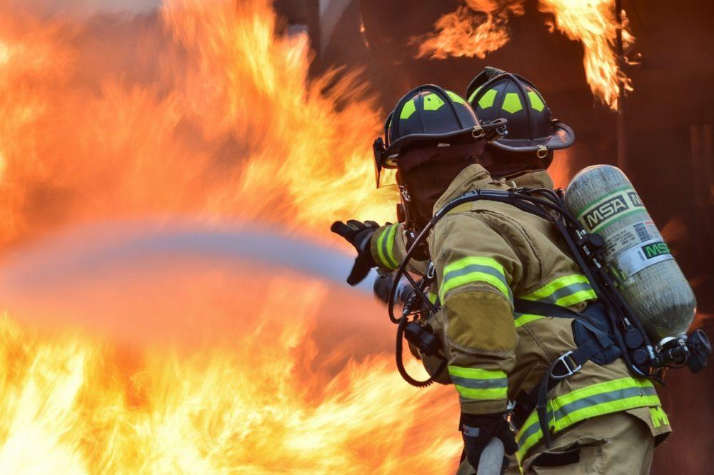guantes para bomberos