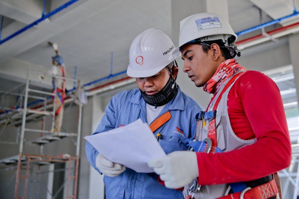 cascos de seguridad para actividades industriales