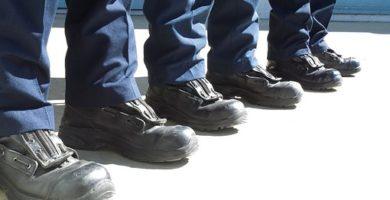 botas punta de hierro