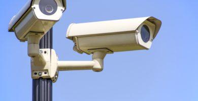 cámaras de seguridad viejas